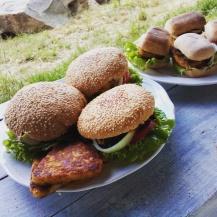 Burger burgonyarösztivel sokféleképpen